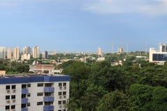 Manaus/Amazonas/Βραζιλία - 09/13/2018: Πόλη του Manaus, neibourhood Adrianopolis στοκ εικόνα με δικαίωμα ελεύθερης χρήσης