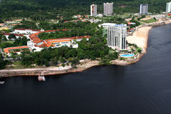 Manaus city amazon river brazil Royalty Free Stock Photos