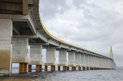 Manaus-Iranduba bridge over Negro river. Stock Photography