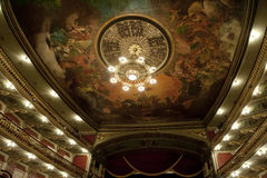 Manaus Opera House inside Royalty Free Stock Photo
