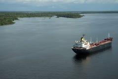 Oil Tanker Ship Royalty Free Stock Photo