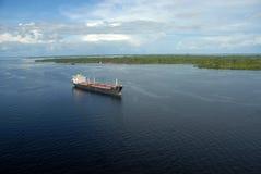 Oil tanker ship. Manaus, September 4, 2006 Royalty Free Stock Image