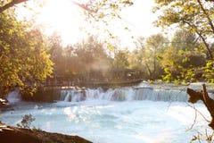 Водопад Manavgat Стоковые Изображения