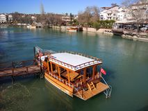 Manavgat Fluss Lizenzfreie Stockfotografie
