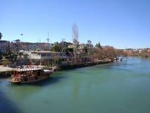 Manavgat Fluss Lizenzfreie Stockbilder