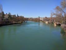 Manavgat Fluss Immagini Stock