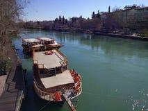 Manavgat Fluss Fotografia Stock Libera da Diritti