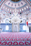 Manavgat Mosque Interior 01 Royalty Free Stock Photo