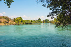 Manavgat river in Turkey Stock Photos