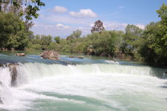 Manavgat-Wasserfälle Lizenzfreie Stockbilder