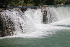 Manavgat-Wasserfälle Lizenzfreie Stockfotografie