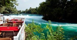 Manavgat Wasserfall lizenzfreies stockbild
