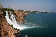 Manavgat waterfall Royalty Free Stock Images