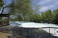 Manavgat Waterfall. Alanya - Antalya - Turkey stock image