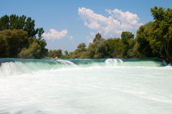Manavgat Waterfall. Turkey Stock Photo