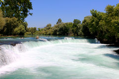 Manavgat waterfall, Turkey Stock Image