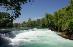 Manavgat Waterfall in Turkey Royalty Free Stock Photos