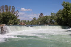 Manavgat Waterfalls Royalty Free Stock Photos