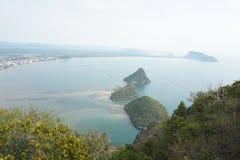 Manaw-Bucht Stockfoto
