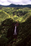 Manawaiopuna baja Kauai Foto de archivo