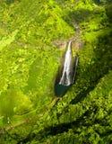 Manawaiopuna Falls in Kauai Royalty Free Stock Images