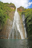 Manawaiopuna Falls Royalty Free Stock Photo