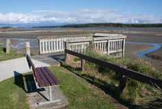 Manawatu Estuary Royalty Free Stock Photo