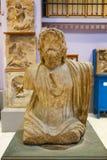 Manbyst av den Greco- romaren på det egyptiska museet Royaltyfria Bilder