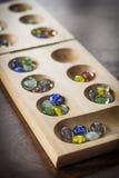 Mancala Board Game Royalty Free Stock Photos