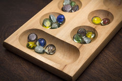 Mancala Board Game Royalty Free Stock Photo