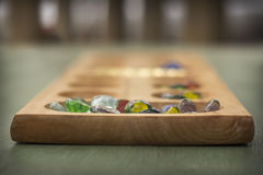 Mancala Board Game Royalty Free Stock Photography