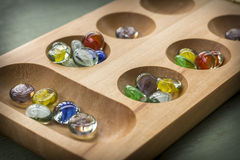 Mancala Board Game Royalty Free Stock Image