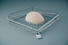 Mancanza di pensiero libero Immagini Stock Libere da Diritti