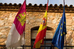 mancha Ισπανία Λα της Καστίλλη&si Στοκ φωτογραφία με δικαίωμα ελεύθερης χρήσης