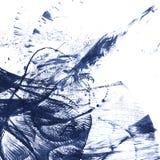 Mancha abstracta de la tinta Foto de archivo libre de regalías