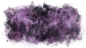 Mancha animada de los cepillos de la acuarela libre illustration