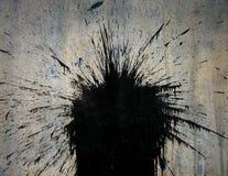 Mancha blanca /negra Ilustración del Vector