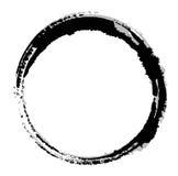 Mancha blanca /negra negra Fotos de archivo