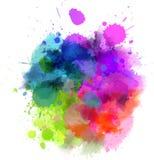 Mancha colorido ilustração do vetor