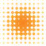 Mancha de óxido anaranjada Fotografía de archivo libre de regalías