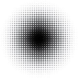 Mancha de óxido negra stock de ilustración