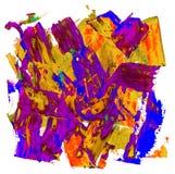 Mancha de la cera del aceite Imagen de archivo libre de regalías