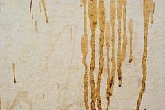 Mancha en la pared Imagen de archivo libre de regalías
