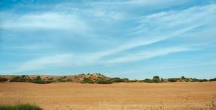 Mancha landscape Stock Images
