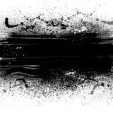 Manchas blancas /negras del fondo del Grunge Fotografía de archivo