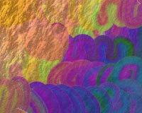 Manchas brillantes de la acuarela Imagen de archivo libre de regalías