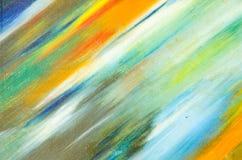 Manchas da aquarela na lona Imagem de Stock Royalty Free