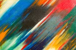 Manchas da aquarela na lona, em grandes pontos e em pontos pequenos Foto de Stock