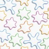 Manchas da cor Foto de Stock