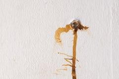 Manchas da oxidação do prego Fotos de Stock